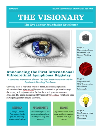 The Visionary Newsletter - Summer 2016 Edition